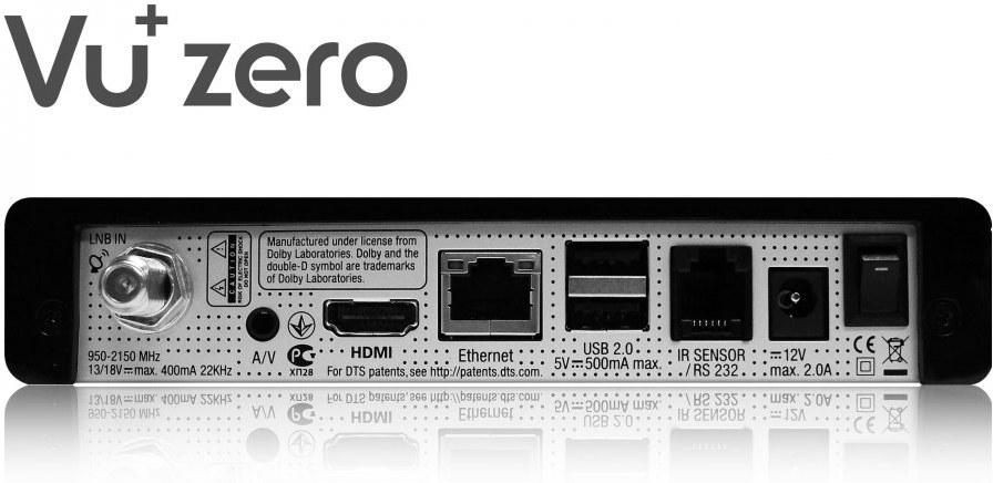 735214921 VU+ Zero čierny VUZEROB | Datacomp.sk