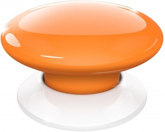 Fibaro Button (FGPB-101-8), Z-Wave, Biele