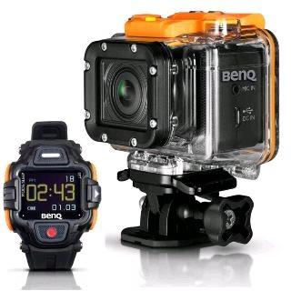BENQ SP2 Vodotesná Športová kamera s hodinkami SP2  dc0ab58d0be
