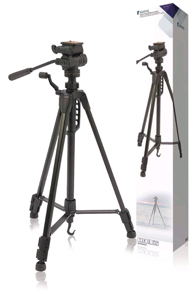f05ee482e Konig Prémiový statív na fotoaparáty a videokamery KN-TRIPOD20 ...