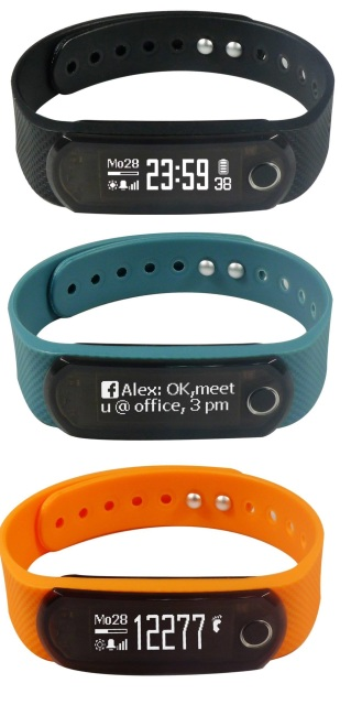 169da787ea9 Aligator Bluetooth Smart fitness náramek Q-Band Q-62 Q62