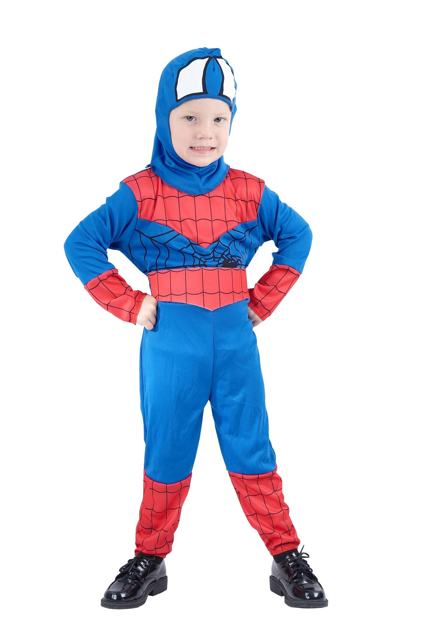 0ae87f78dc52 Karnevalový kostým Spiderman 130 - 140cm 40K008534