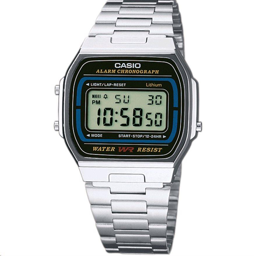 88f531e49 Hodinky Casio A 164A-1, strieborné A 164A-1 | Datacomp.sk