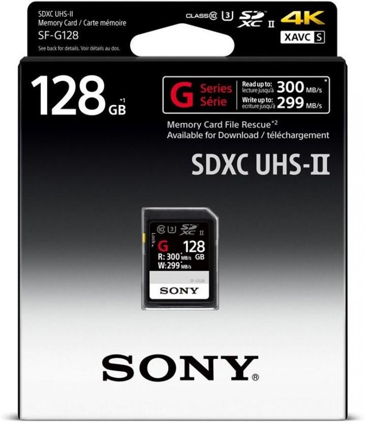 Sony Sd Karta 128gb Class 10 U3 Sfg1g Vypredaj Datacomp Sk