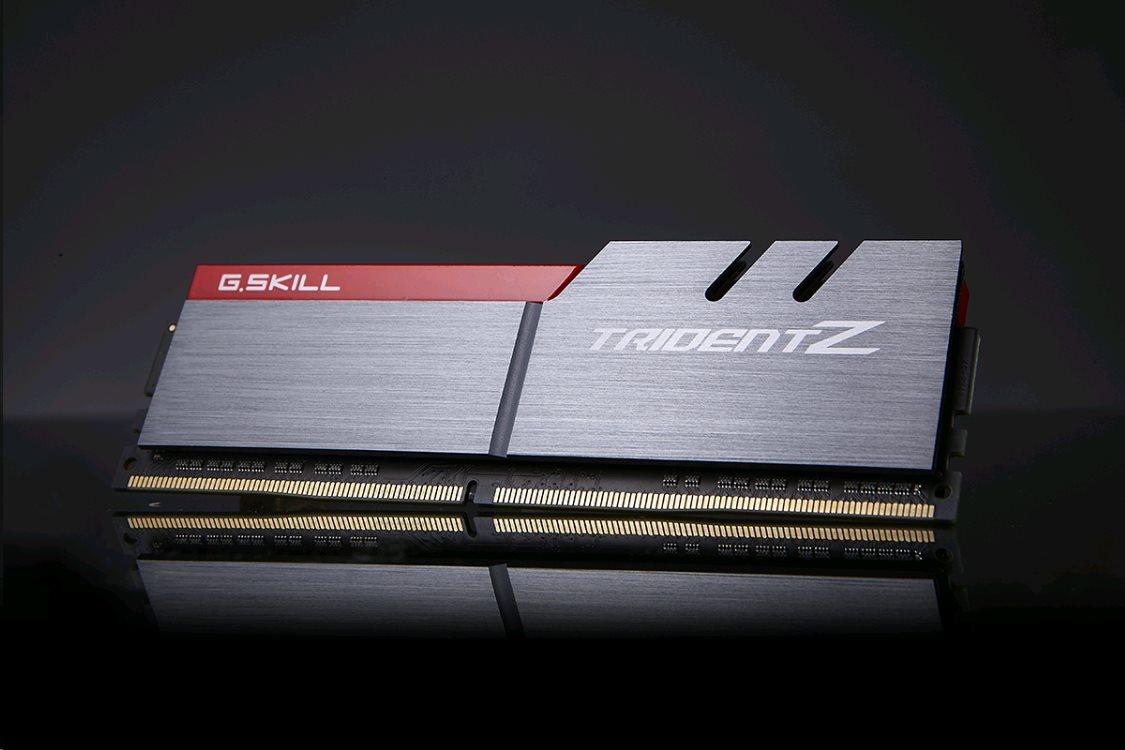 G Skill Trident Z Series, DDR4-3200, CL16 - 16 GB Kit F4