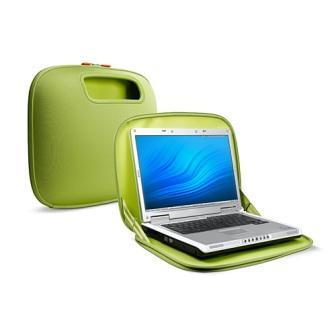 83659fa7ed BELKIN PocketTop Zelená taška na notebook - 15