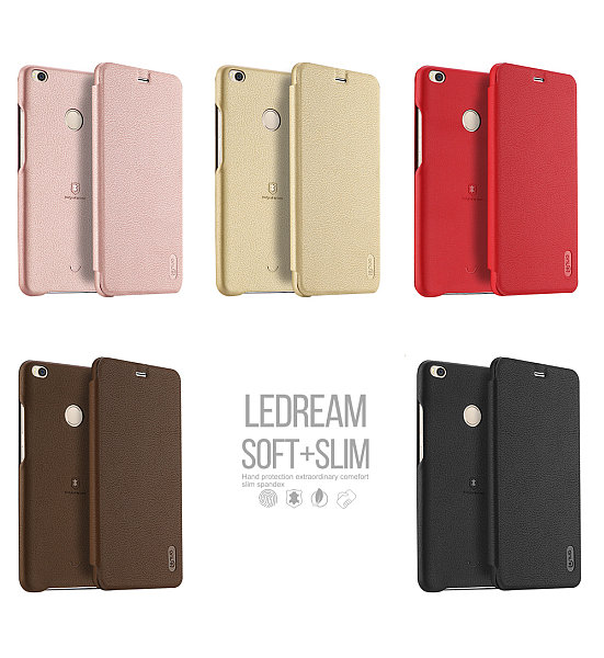 98eba358e6 Lenuo Ledream pouzdro pro Xiaomi Mi Max 2 zlaté